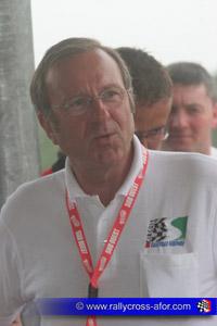 Michel Perrin (Président de l'Association Sportive Circuit de Faleyras/Gironde)