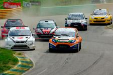 Championnat d'Europe de Rallycross à Essay