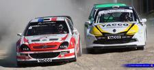 Davy Jeanney (Citroën XSARA WRC) : Un grand champion qui a confirmé à FALEYRAS
