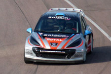 C'est sur une 207 WRC identique à celle là que David Meslier sera présent à Essay pour la manche du Championnat d'Europe