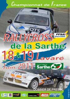Programme du rallycross de Lavaré