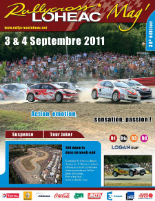 Rallycross 2011 Lohéac Magazine