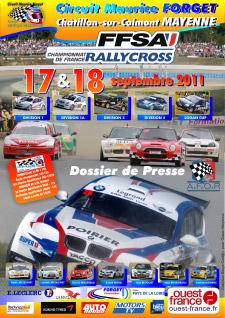 Dossier de Presse du Rallycross de Mayenne 2011 à Châtillon-sur-Colmont