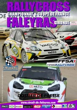 Dossier de Presse du Rallycross de Faleyras 2012