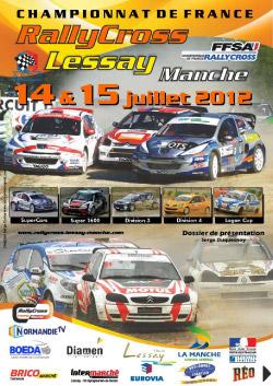 Présentation du Rallycross de Lessay 2012