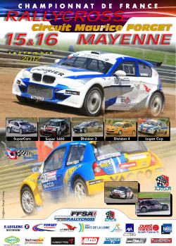 Présentation du Rallycross de Mayenne 2012