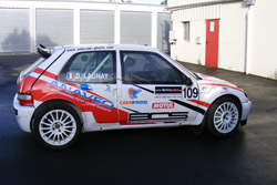 Dorian Launay (Citroën Saxo Kit Car)