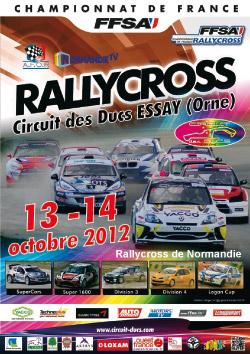 Présentation du Rallycross d'Essay 2012