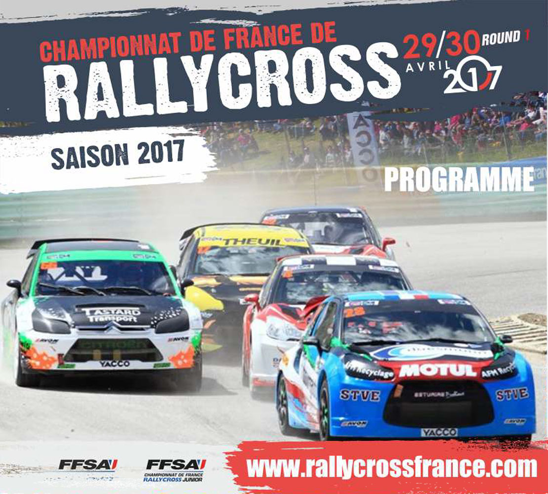 programme du rallycross d 39 essay 2017. Black Bedroom Furniture Sets. Home Design Ideas